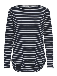 Jacqueline de Yong T-shirt JDYNOLA L/S  STRIPED  TOP JRS 15170915 Sky Captain/CLOUD DANCER