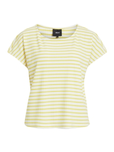 Object T-shirt OBJELISA S/S TOP PB5 23028565 Maize/WHITE AS S