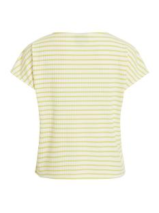 objelisa s/s top pb5 23028565 object t-shirt maize/white as s
