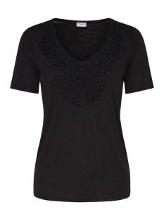 Jacqueline de Yong T-shirt JDYDODO S/S TOP JRS 15154568 Black/DTM CROCHE