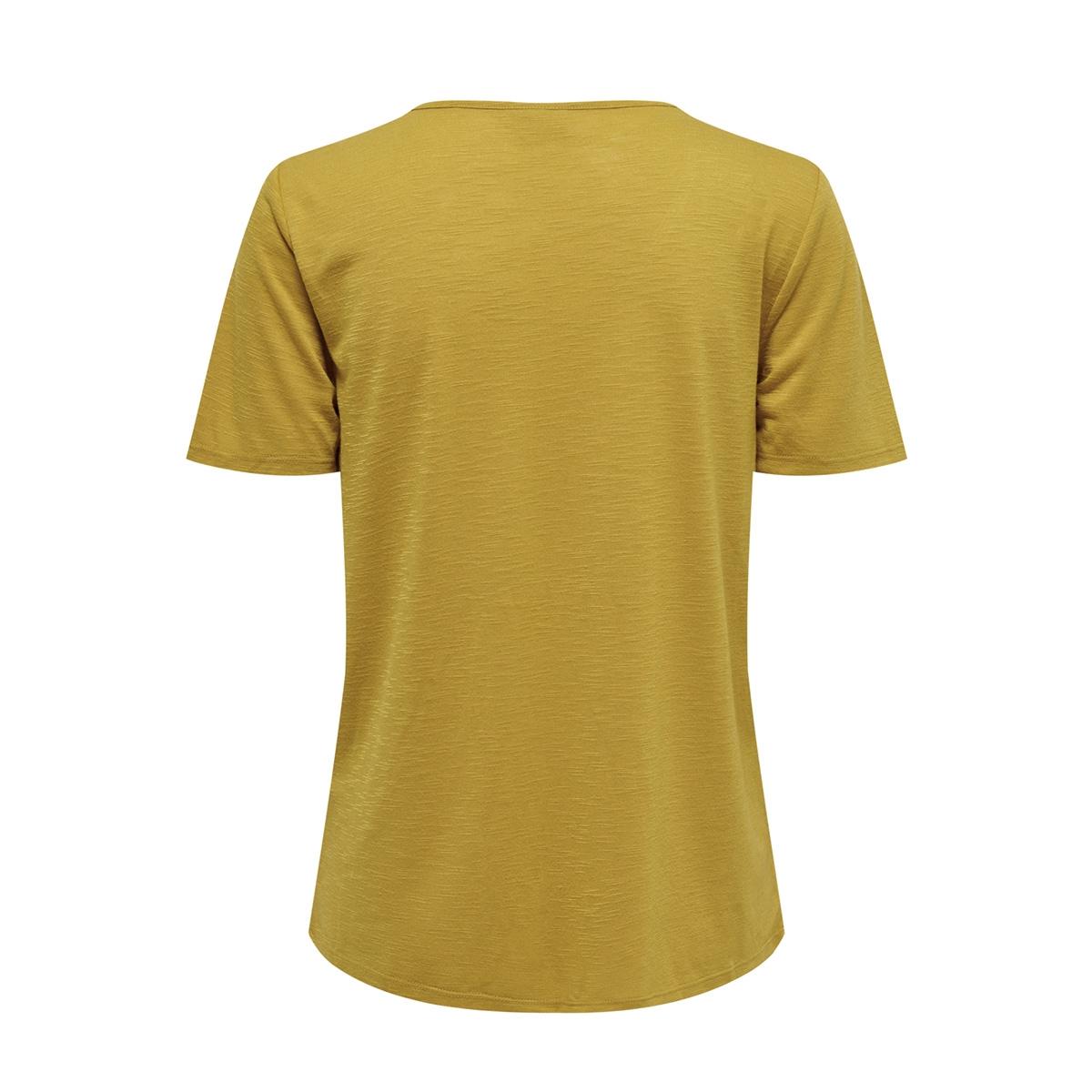 jdydodo s/s top jrs 15154568 jacqueline de yong t-shirt tawny olive/dtm croche