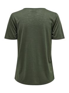 jdydodo s/s top jrs 15154568 jacqueline de yong t-shirt thyme/dtm croche