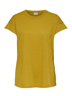Jacqueline de Yong T-shirt JDYNELLY S/S TOP JRS 15172344 Tawny Olive