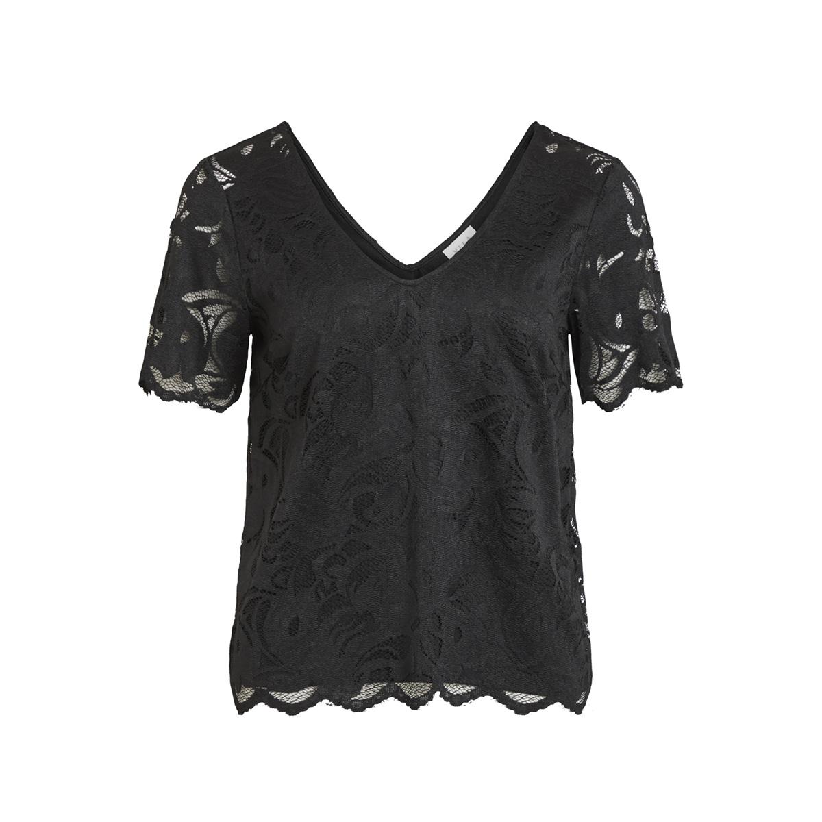 vidaimy s/s t-shirt tb 14051848 vila t-shirt black