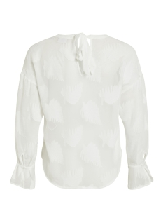 vibadida l/s top 14051581 vila t-shirt cloud dancer
