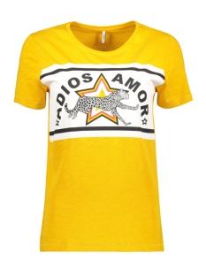 Only T-shirt ONLADIOS S/S TOP JRS 15176585 Mango Mojito