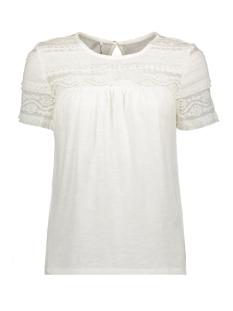 onlmarjorie s/s top jrs 15176772 only t-shirt cloud dancer
