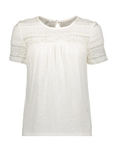 Only T-shirt ONLMARJORIE S/S TOP JRS 15176772 Cloud Dancer