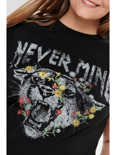 carnever mind ss tee 15174955 only carmakoma t-shirt black