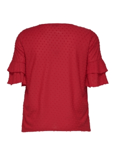 cardidde 2/4 top 15176966 only carmakoma t-shirt high risk red