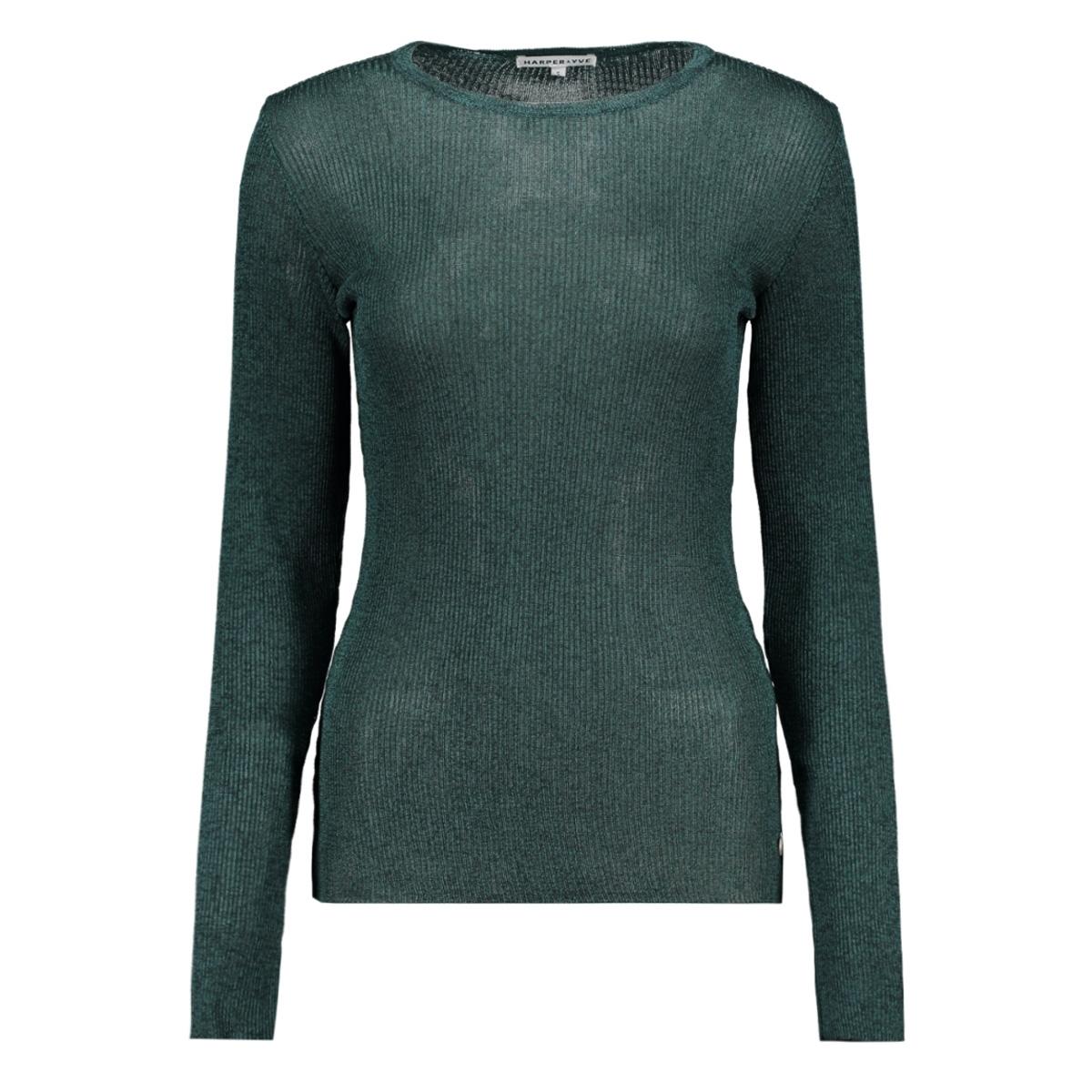 ss19r403 harper & yve t-shirt 667 bottle green