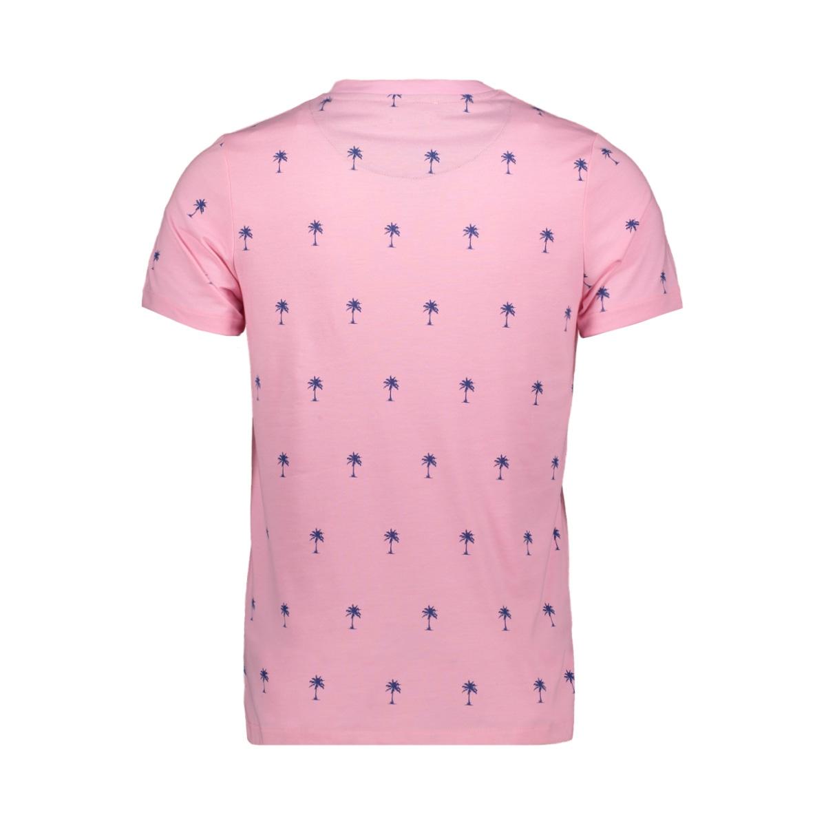 jprsean tee ss crew neck exp sc 12152785 jack & jones t-shirt prism pink