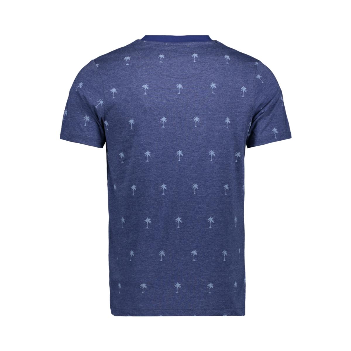 jprsean tee ss crew neck exp sc 12152785 jack & jones t-shirt blue depths
