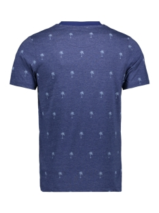 jprsean tee ss crew neck exp sc 12152785 jack & jones t-shirt blue depths
