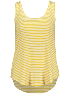 Pieces Top PCBILLO TANK TOP NOOS 17078843 Bright White/LEMON CHRO