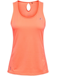 Only Play Sport top ONPMATHILDA SL TRAINING TOP 15166300 Neon Orange