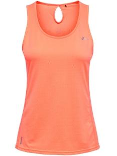 Only Play Sport top ONPMATHILDA SL TRAINING TOP 15166300 Neon Orange