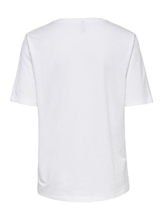 onlsandy boxy s/s face top box co j 15181431 only t-shirt bright white/glasses