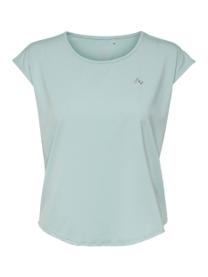 Only Play Sport shirt ONPCAROLINE CURVED SS TRAINING TEE 15165829 Sea Angel