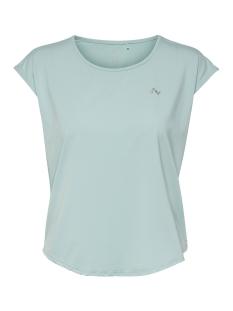 Only Play Sport shirt ONPCAROLINE CURVED SS TRAINING TEE 15165829 Sea Angel