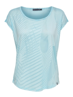 Only Play Sport shirt ONPFELICITY CURVED BURNOUT SS TEE 15166359 Sea Angel