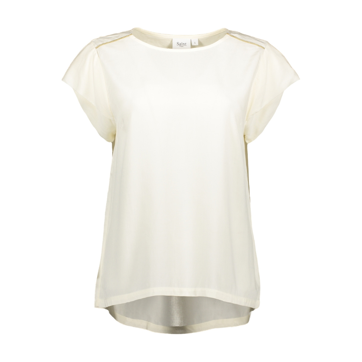 top w sleeve detail t1093 saint tropez t-shirt 1053