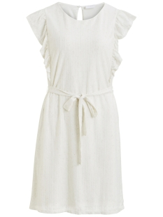 Vila Jurk VILVERA S/L DRESS 14052175 Cloud Dancer