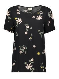 Jacqueline de Yong T-shirt JDYSTAR S/S TOP WVN1 FS 15171526 Black/PALE PINK