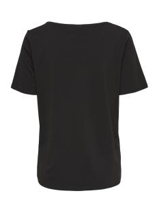 jdybillie treats s/s  print top jrs 15174396 jacqueline de yong t-shirt black/cloud dancer