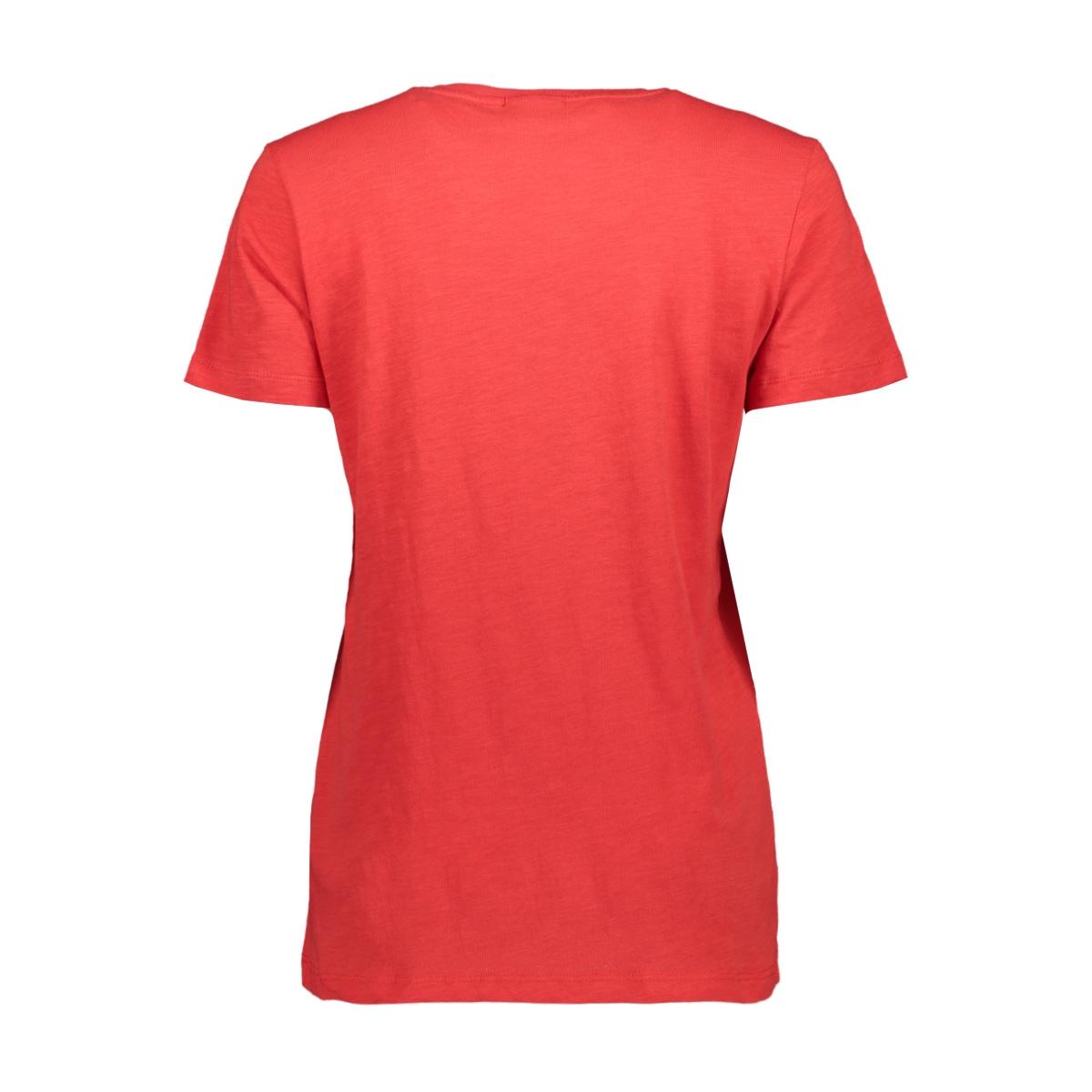 t shirt w flock print t1547 saint tropez t-shirt 7360