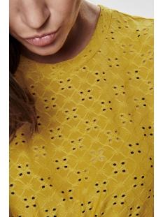 jdycathinka s/s tag top jrs 15158450 jacqueline de yong t-shirt tawny olive