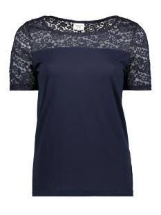 Jacqueline de Yong T-shirt JDYKIMMIE S/S TOP JRS 15161149 Sky Captain/DTM LACE