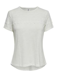 Only T-shirt ONLISA S/S TOP JRS 15178073 Cloud Dancer