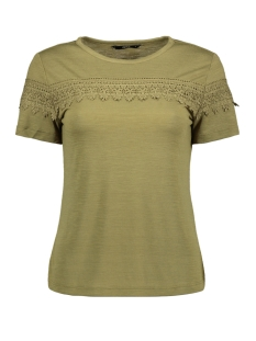 Only T-shirt ONLISA S/S TOP JRS 15178073 Martini Olive