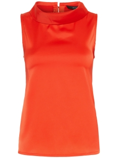 Vero Moda Top VMFRIDA SL TOP WVN GA 10212081 Fiery Red