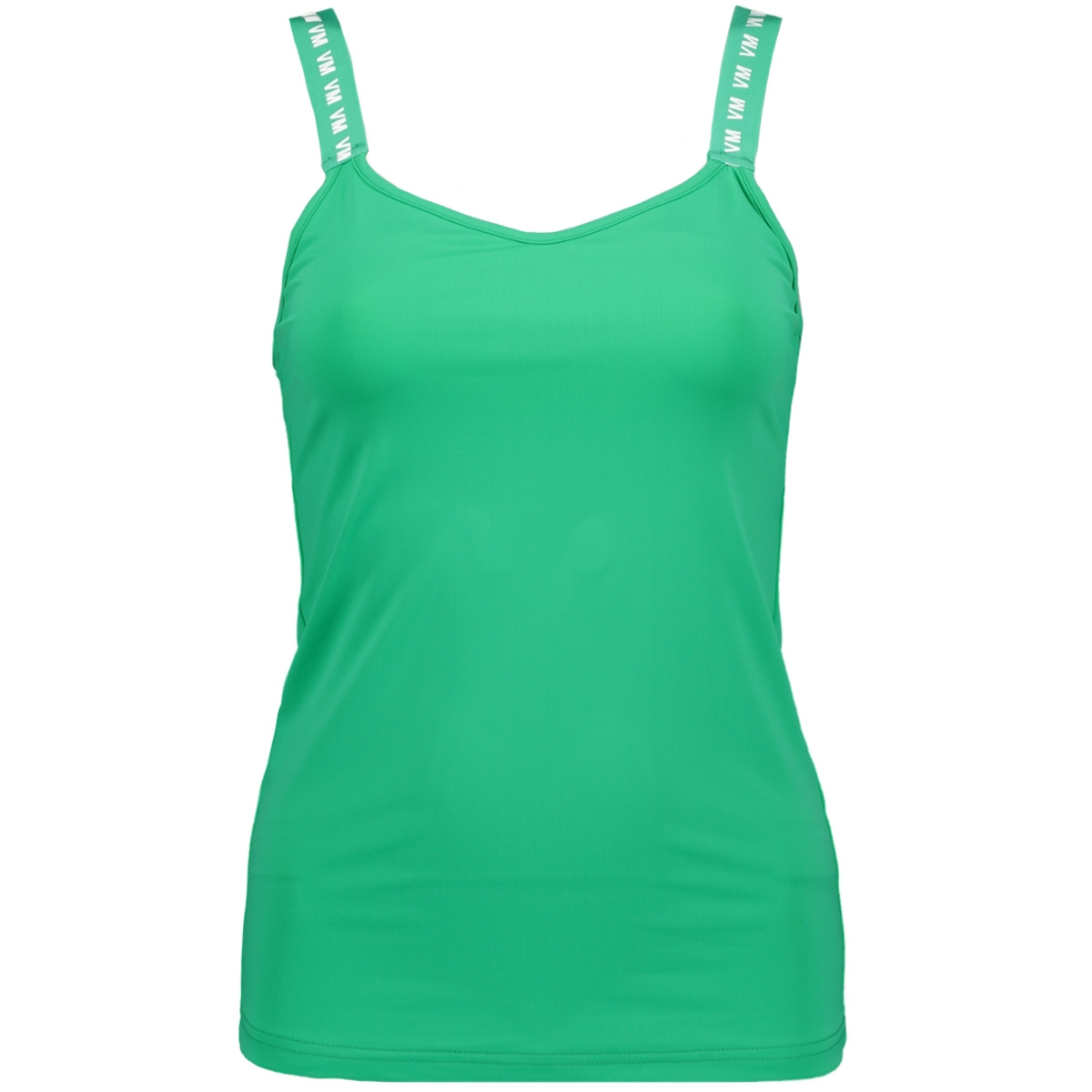 vmnaomi sl sporty tanktop lcs 10215994 vero moda top holly green/vm letters