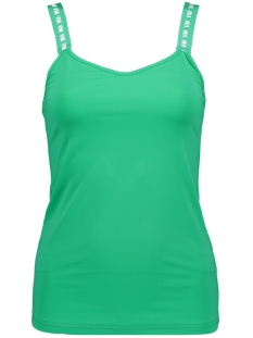 Vero Moda Top VMNAOMI SL SPORTY TANKTOP LCS 10215994 Holly Green/VM LETTERS