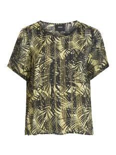 objpalm ss top 102 23028815 object t-shirt elfin yellow/elfin yellow