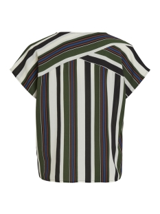 objtess karen s/s top rep 23027226 object t-shirt black/black forest