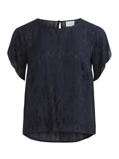 Vila T-shirt VICALIA S/S TOP 14051693 Navy Blazer