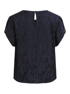 vicalia s/s top 14051693 vila t-shirt navy blazer