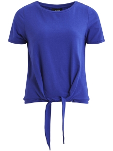 Object T-shirt OBJSTEPHANIE MAXWELL S/S TOP SEASON 23029400 Clematis Blue