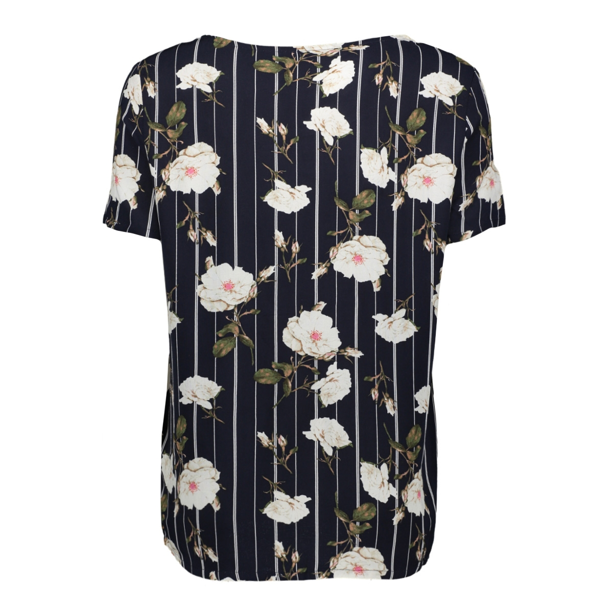 vmsimply easy ss top 10211480 vero moda t-shirt night sky/tuva