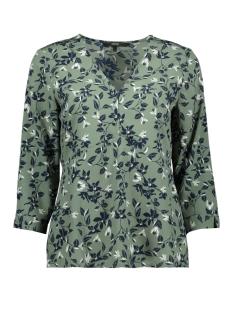 vmviola 3/4 top wvn 10213848 vero moda blouse laurel wreath/viola