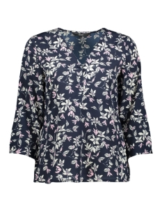 Vero Moda Blouse VMVIOLA 3/4 TOP WVN 10213848 Night Sky/VIOLA NIGH