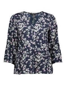 vmviola 3/4 top wvn 10213848 vero moda blouse night sky/viola nigh