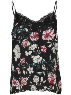 Vero Moda Top VMKILEY LACE SINGLET VIP 10218203 Black/KILEY