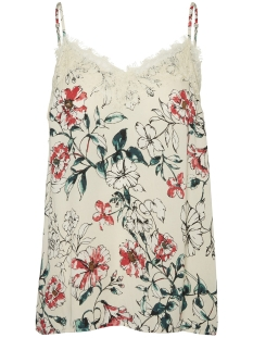 Vero Moda Top VMKILEY LACE SINGLET VIP 10218203 Oatmeal/KILEY
