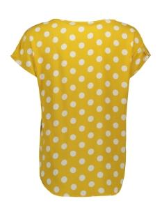 jdystar s/s v-neck top wvn fs 15171522 jacqueline de yong t-shirt spicy mustard