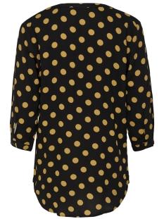 jdystar 3/4 placket top wvn1 fs 15171537 jacqueline de yong blouse black/chai tea d